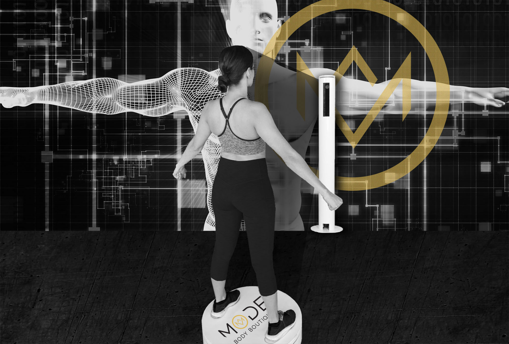 3D Body Scanner Chicago West Loop Gym   Mode Body Boutique
